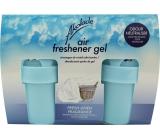 Akolade Air Freshener Fresh Linen solid gel osvěžovač vzduchu 2 x 150 g
