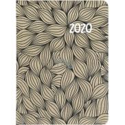 Albi Diář 2020 týdenní Černé listy 17 x 12,5 x 1,2 cm