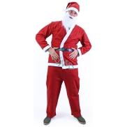 Kostým Santa Claus bez vousů