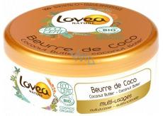 Lovea Bio Kokosový olej a vitamin E máslo na obličej, tělo, vlasy, ruky, lokty 150 ml