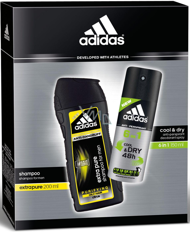 buscar auténtico lo último nueva productos calientes Adidas Cool & Dry 48h 6in1 antiperspirant deodorant spray for men ...