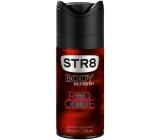 Str8 Red Code deodorant sprej pro muže 150 ml