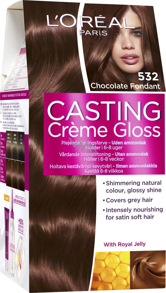 barva na vlasy mléčný karamel