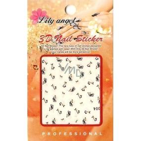 Lily Angel 3D nálepky na nehty 10120 B004 1 aršík