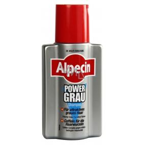 Alpecin PowerGrey Shampoo šampon pro šedivé vlasy 200 ml