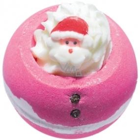 Bomb Cosmetics Duch vánoc Šumivý balistik do koupele 160 g