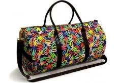 Moschino Dámská cestovní taška barevná 59 x 29 x 28 cm