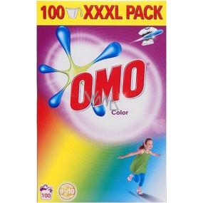 Omo Color prací prášek na barevné prádlo 100 dávek 7 kg