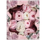 Baylis & Harding Boudoire Sametová růže a Kašmír vonné mýdlové lístky, kosmetická sada