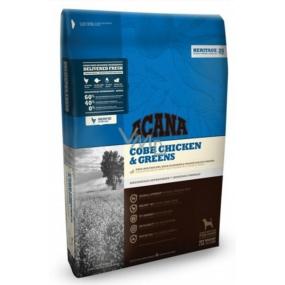 Acana Adult Cobb Chicken & Greens Heritage kompletní krmivo vhodné pro všechna plemena dospělých psů 17 kg