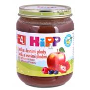 Hipp Ovoce Bio Jablka s lesními plody ovocný příkrm, snížený obsah laktózy a bez přidaného cukru pro děti 125 g