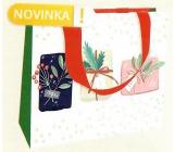 Nekupto Dárková papírová taška luxusní 23 x 18 cm Dárky WLFM