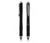 Spoko Panther Nature kuličkové pero, Easy Ink, černé, modrá náplň 0,5 mm