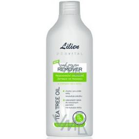 Lilien Provital Tea tree oil regenerační odlakovač na nehty 200 ml