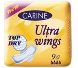 Carine Ultra Wings Top Dry intimní vložky 9 ks