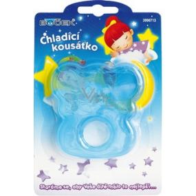 Boček Chladící kousátko Míša modré, růžové 1 kus