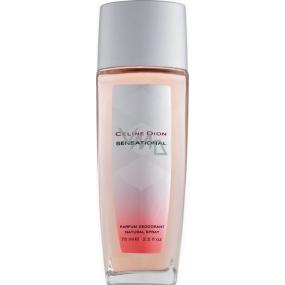 Celine Dion Sensational parfémovaný deodorant sklo Tester pro ženy 75 ml