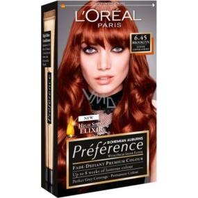 Loreal Paris Préférence Récital barva na vlasy 6.45 brooklyn Intenzivní měděná hnědá