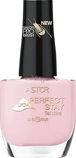 Astor Perfect Stay Gel Shine 3v1 lak na nehty 120 Nude Pink 12 ml