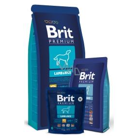 Brit Premium Adult pro dospělé psy s projevy alergie či zažívacích potíží, kožních onemocnění 3 kg Kompletní prémiové krmivo