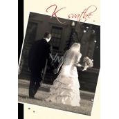 Ditipo Hrací a svítící přání K svatbě anglická písnička You And Me 224 x 157 mm