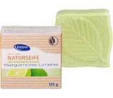 Kappus Natural Bergamot & Lime certifikované přírodní toaletní mýdlo 125 g