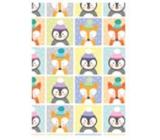 Ditipo Vánoční balicí papír pro děti liška, tučňák 100 x 70, 2 kusy