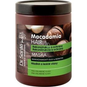 Dr. Santé Macadamia Hair maska na oslabené vlasy 1 l