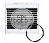 Invisibobble Basic True Black Ultra tenké gumičky do vlasů černé 10 kusů