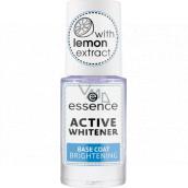 Essence Active Whitener Base Coat podkladový lak na nehty 8 ml