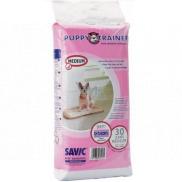 Savic Puppy Trainer Pleny, výchovné podložky pro štěňata, skvěle absorbující 45 x 30 cm 30 kusů