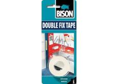 Bison Double Fix Tape oboustranná lepicí páska 1,5 m x 19 mm