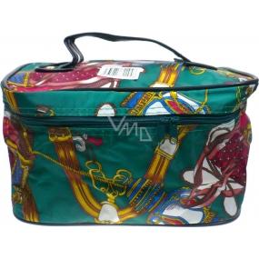 Kosmetický barevný kufřík nylonový 50409 24 x 14 x 14 cm 1 kus