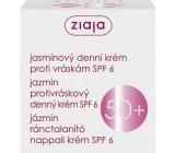 Ziaja Jasmín SPF6 jasmínový denní krém proti vráskám 50 ml