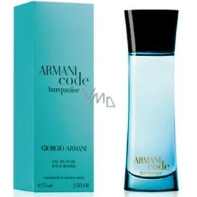 Giorgio Armani Code Turquoise Eau Fraiche pour Homme toaletní voda 75 ml