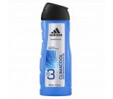 Adidas Climacool 3v1 sprchový gel na tělo, tvář a vlasy pro muže 400 ml