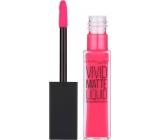 Maybelline Color Sensational Vivid Matte Liquid Lipstick lesk na rty 15 Electric Pink 7,7 ml