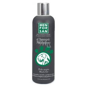 MenForSan Zvýrazní černou barvu přírodní šampon pro psy 300 ml