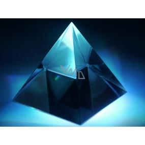 Skleněná pyramida 4 cm