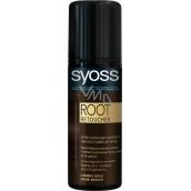 Syoss Root Retoucher sprej na odrosty Tmavě hnědý 120 ml