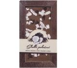 Bohemia Gifts & Cosmetics Mléčná hořká čokoláda Sladké pokušení Kokos ručně vyráběná 80 g