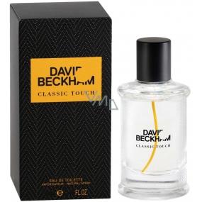 David Beckham Classic Touch toaletní voda pro muže 40 ml