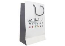 DÁREK Millefiori Taška papírová bílá malá 22 x 12 cm 1 ks