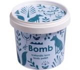 Bomb Cosmetics Ledová láva - Icelandic Lava Přírodní máslový tělový peeling 365 ml