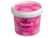 Bomb Cosmetics Himalájská sůl - Pink Himalayan Salt Přírodní sprchový tělový peeling 365 ml