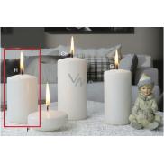 Lima Ice pastel svíčka bílá válec 60 x 90 mm 1 kus