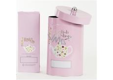 English Tea Shop Plechovka na 1 kg sypaného čaje růžová
