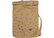 Albi Eko batoh vyrobený z pratelného papíru Vlaštovky 43 x 29 x 11 cm