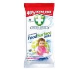 Green Shield Kuchyně antibakteriální čisticí vlhčené ubrousky 70 kusů