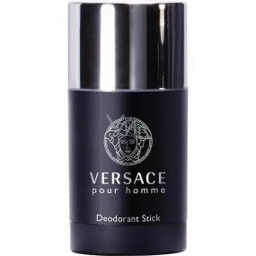 Versace pour Homme deodorant stick pro muže 75 ml